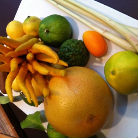 Main de bouddha, lime, kumkat et autres trésors...