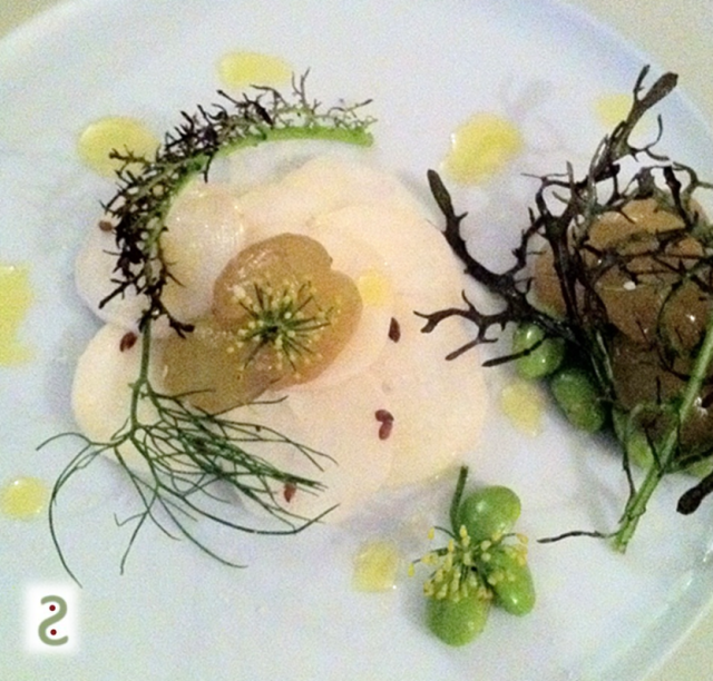 Salade emadame, raisin et graines de lin