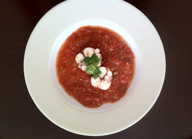 gaspacho octopus