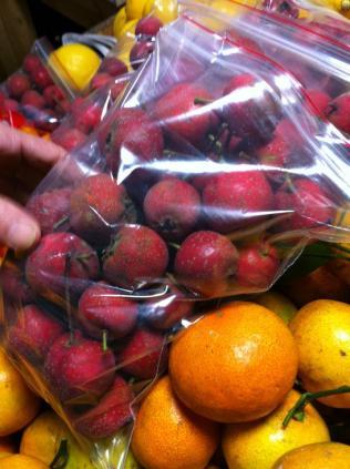 Intriguing cute japanese apples..