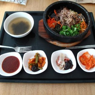 Bi Bim Bap and Bulgogi, $10, Seoul, Korea
