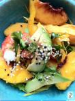 Salade pêche crevette avocat comme ceviche http://wp.me/p389oa-Hc