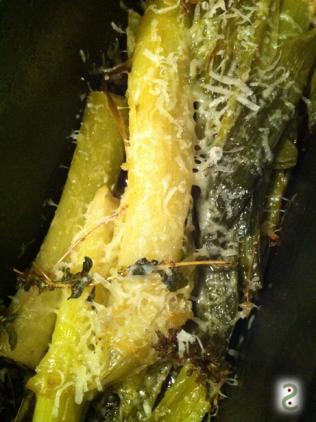 Poireau braisé vin blanc et miso http://wp.me/p389oa-KQ