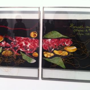 Magnifiques collages d'Alain Passard