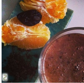 Smoothie orange-cacao cru http://wp.me/p389oa-U4