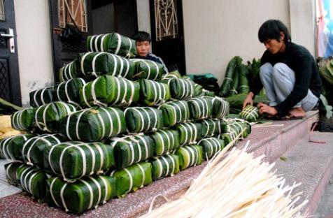 Banh Chung Tet