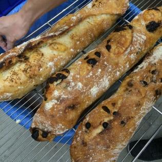 3 sortes de baguettes
